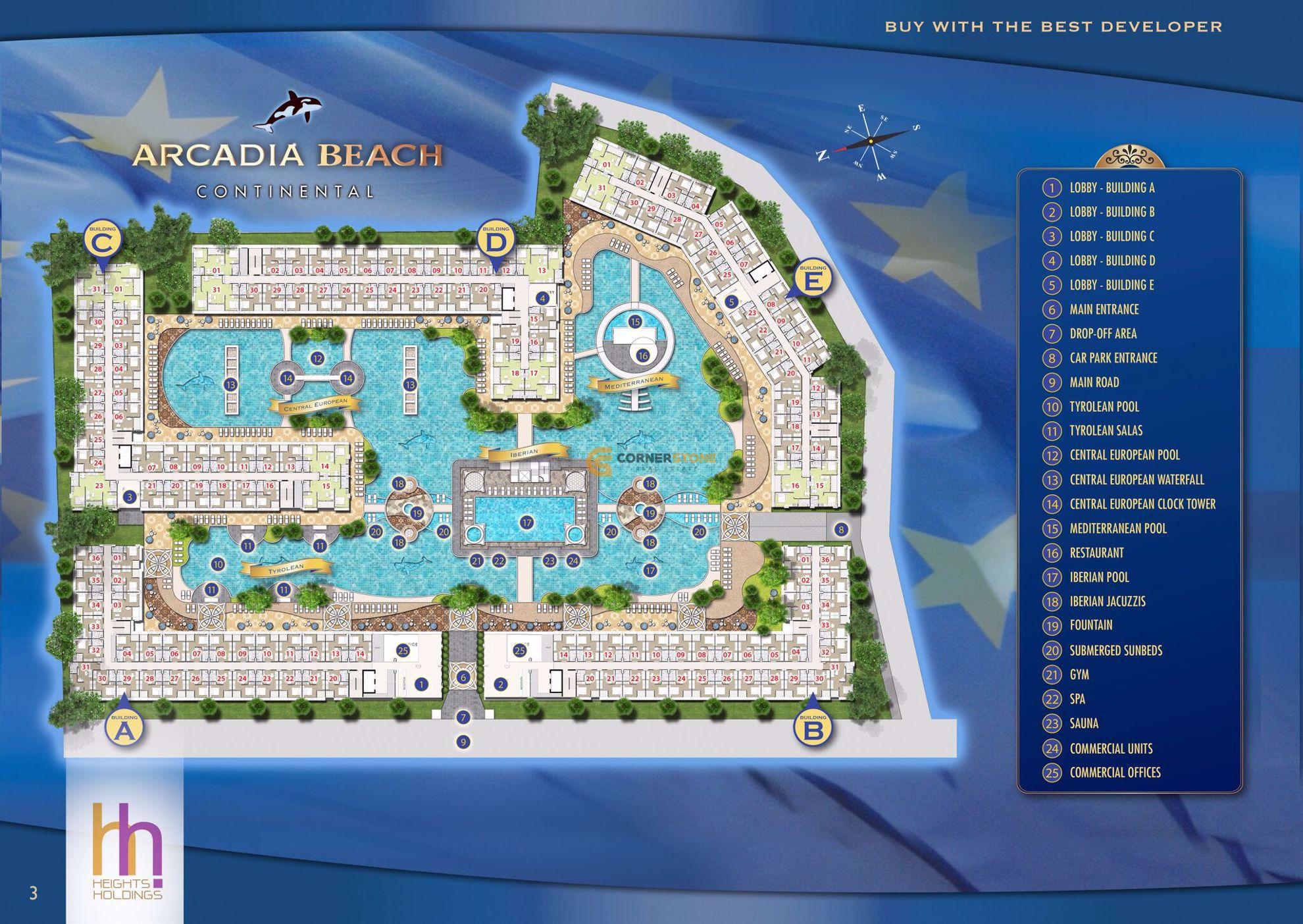 Arcadia Beach Continental