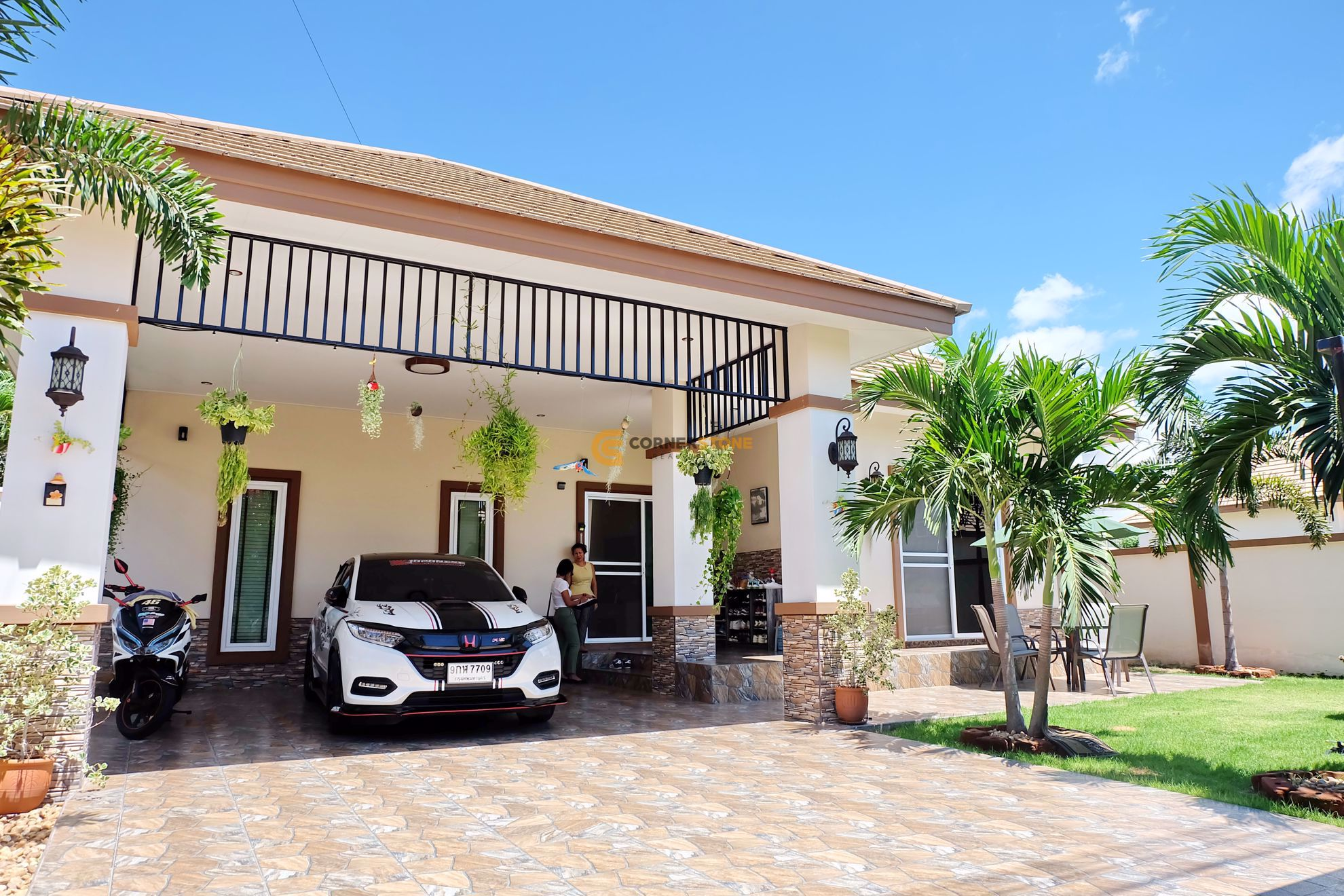 2 bed House Classic Garden Home in East Pattaya H002270